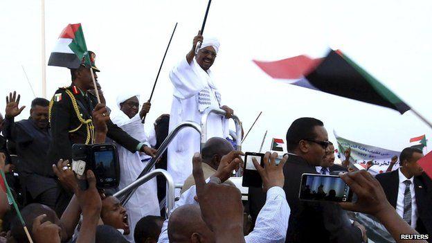 Omar al-Bashir South Africa
